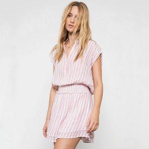 Rails Angelina Rose Stripe Short Sleeve Dress